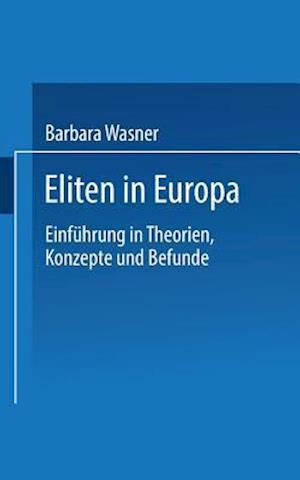 Eliten in Europa af Barbara Wasner