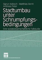 Stadtumbau Unter Schrumpfungsbedingungen af Sigrun Kabisch