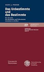 Das Unbestimmte Und Das Bestimmte af Hans J. Pirner