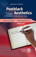 Postblack Aesthetics (American Studies a Monograph Series)