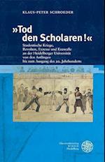 Tod Den Scholaren! af Klaus-Peter Schroeder