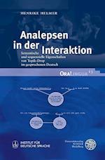 Analepsen in Der Interaktion (Oralingua, nr. 13)