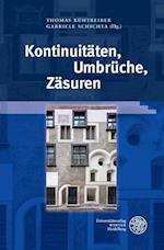 Kontinuitaten, Umbruche, Zasuren (Interdisziplinare Beitrage Zu Mittelalter Und Fruher Neuzeit, nr. 6)