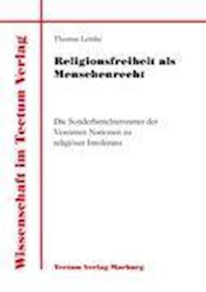Religionsfreiheit ALS Menschenrecht af Thomas Lemke