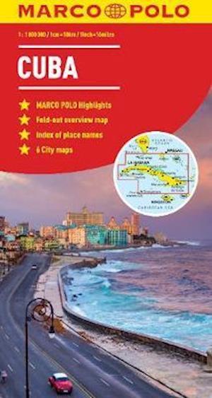 Cuba Marco Polo Map af Marco Polo