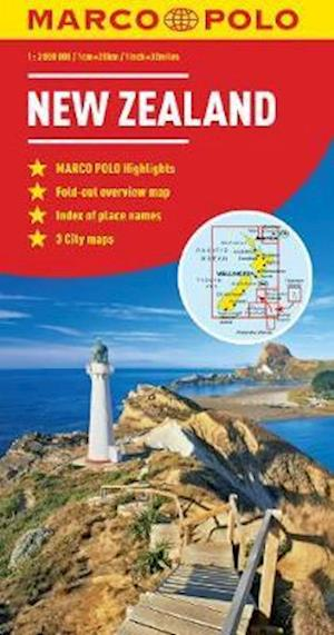 New Zealand Marco Polo Map af Marco Polo