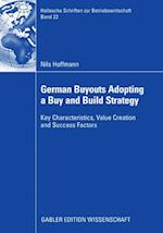 German Buyouts Adopting a Buy and Build Strategy af Nils Hoffmann
