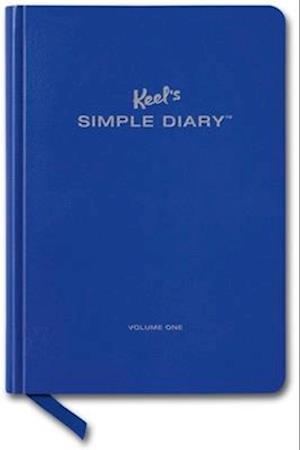 Bog, paperback Simple Diary I (Royal Blue) af Philipp Keel
