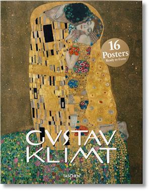 Bog, ukendt format Klimt Poster Set af Taschen