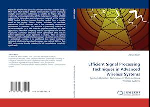 Efficient Signal Processing Techniques in Advanced Wireless Systems af Adnan Khan