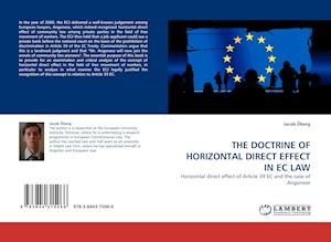 The Doctrine of Horizontal Direct Effect in EC Law af Jacob Oberg, Jacob Berg