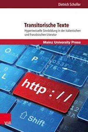 Bog, hardback Transitorische Texte af Dietrich Scholler