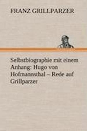 Selbstbiographie af Franz Grillparzer
