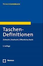 Taschen-Definitionen (Nomoslehrbuch)