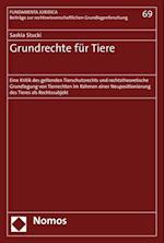 Grundrechte Fur Tiere (Fundamenta Juridica, nr. 69)