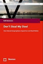 Don't Steal My Steel (Vergleichende Analyse Politischer Systeme, nr. 8)