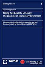 Taking Age Equality Seriously (Oslo Legal Studies, nr. 1)