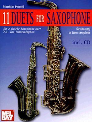 11 Duets for Saxophone af Matthias Petzold