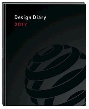 Bog, hardback Design Diary 2017 af Peter Zec