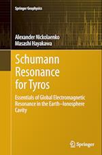 Schumann Resonance for Tyros (Springer Geophysics)