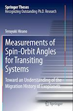 Measurements of Spin-Orbit Angles for Transiting Systems (Springer Theses)
