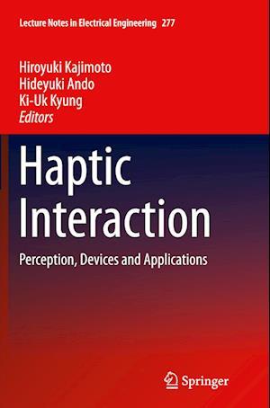 Bog, paperback Haptic Interaction af Hiroyuki Kajimoto