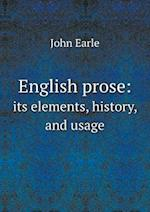 English Prose af John Earle