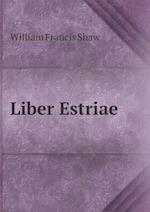 Liber Estriae af William Francis Shaw