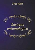 Societas Entomologica af Fritz Ruhl