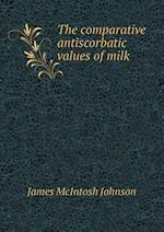 The Comparative Antiscorbatic Values of Milk af James Mcintosh Johnson