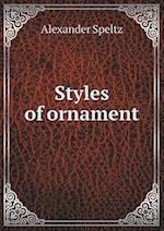 Styles of Ornament af Alexander Speltz