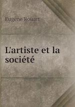 L'Artiste Et La Societe af Eugene Rouart