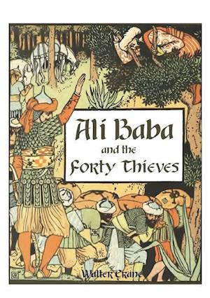 Bog, paperback Ali Baba and the Forty Thieves af Walter Crane