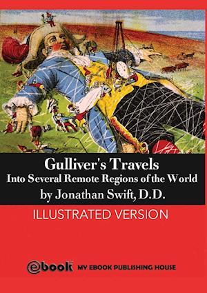 Bog, paperback Gulliver's Travels af D. D. Jonathan Swift