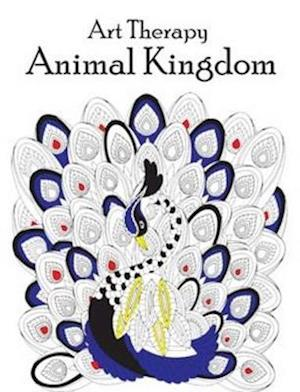 Bog, paperback Art Therapy Animal Kingdom af Pegasus