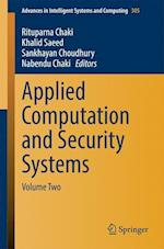Applied Computation and Security Systems af Rituparna Chaki