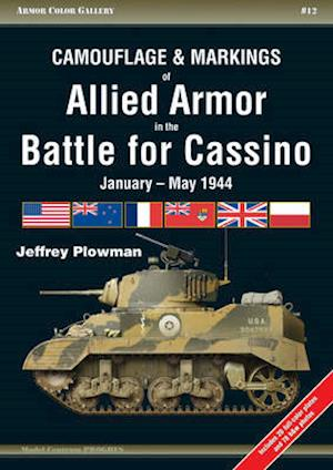 Camouflage & Markings of Allied Armor in the Battle for Cassino af Jeffrey Plowman