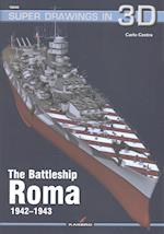 The Battleship Roma 1942-1943 (Super Drawings in 3D, nr. 40)