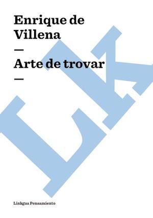 Arte de trovar af Enrique De Villena