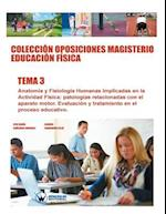 Coleccion Oposiciones Magisterio Educacion Fisica. Tema 3