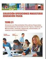 Coleccion Oposiciones Magisterio Educacion Fisica. Tema 21