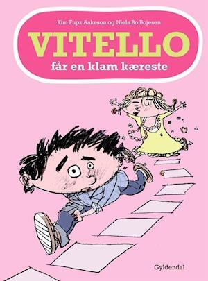 Bog, indbundet Vitello får en klam kæreste af Kim Fupz Aakeson