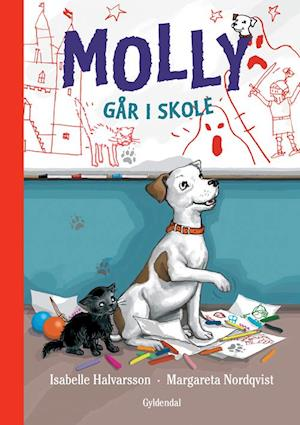 Molly går i skole af Isabelle Halvarsson