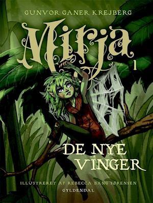 Bog, indbundet Mirjas vinger af Gunvor Ganer Krejberg
