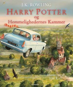 Harry Potter Illustreret 2 - Harry Potter og Hemmelighedernes Kammer af J. K. Rowling