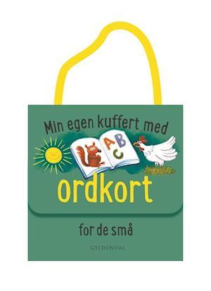 Min egen kuffert med ordkort for de små af Gyldendal