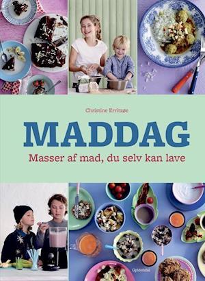 Bog, indbundet Maddag - masser af mad du selv kan lave af Christine Erritzøe