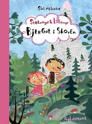 Bog, indbundet Storemyr og Lillemyr. Bjerget i skoven af Siri Melchior