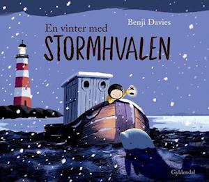 Bog, indbundet En vinter med stormhvalen af Benji Davies