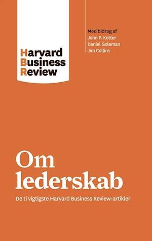 Bog, hæftet Harvard Business Review om lederskab af harvard Business Review